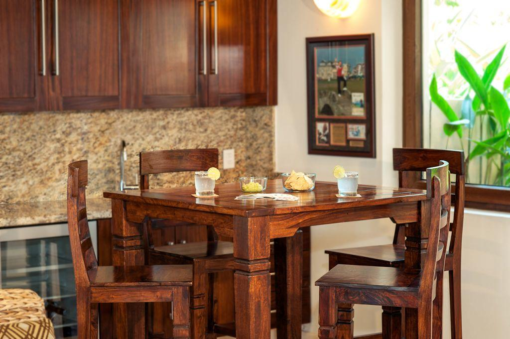 Game Room Dining for 4 - Punta Mita Villa For Rent - Casa Joya Del Mar