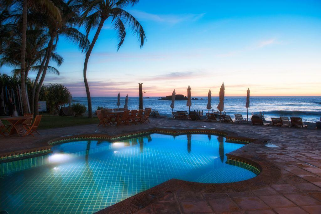 Punta Mita Residents Beach Club Pool Terrace - Punta Mita St Regis - Casa Joya Del Mar