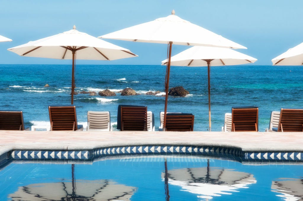 View From Punta Mita Residents Beach Club - Punta Mita St Regis - Casa Joya Del Mar