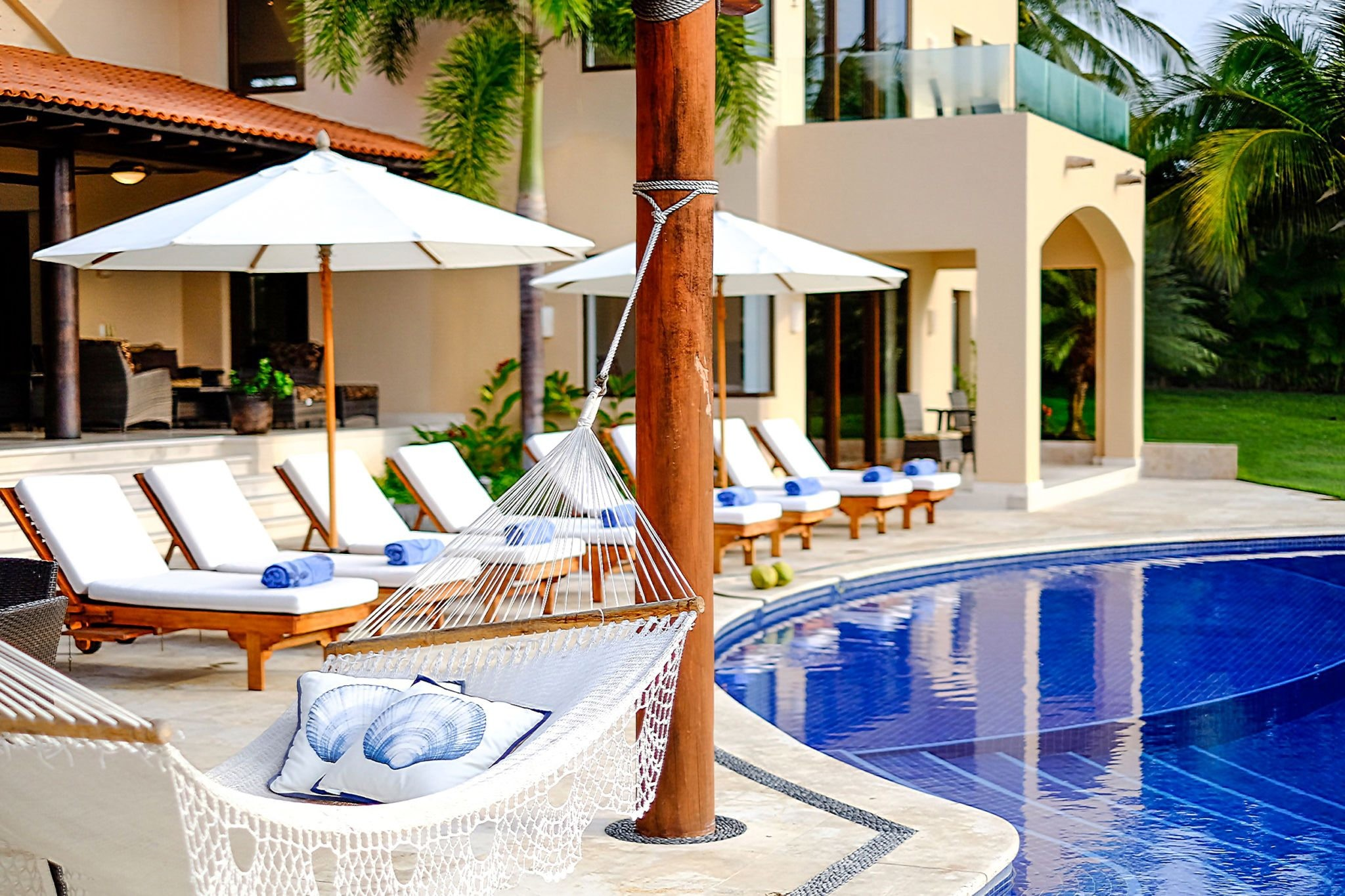 Enjoy Relaxing By The Pool
